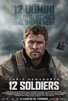 12 Soldiers (2018) Poster